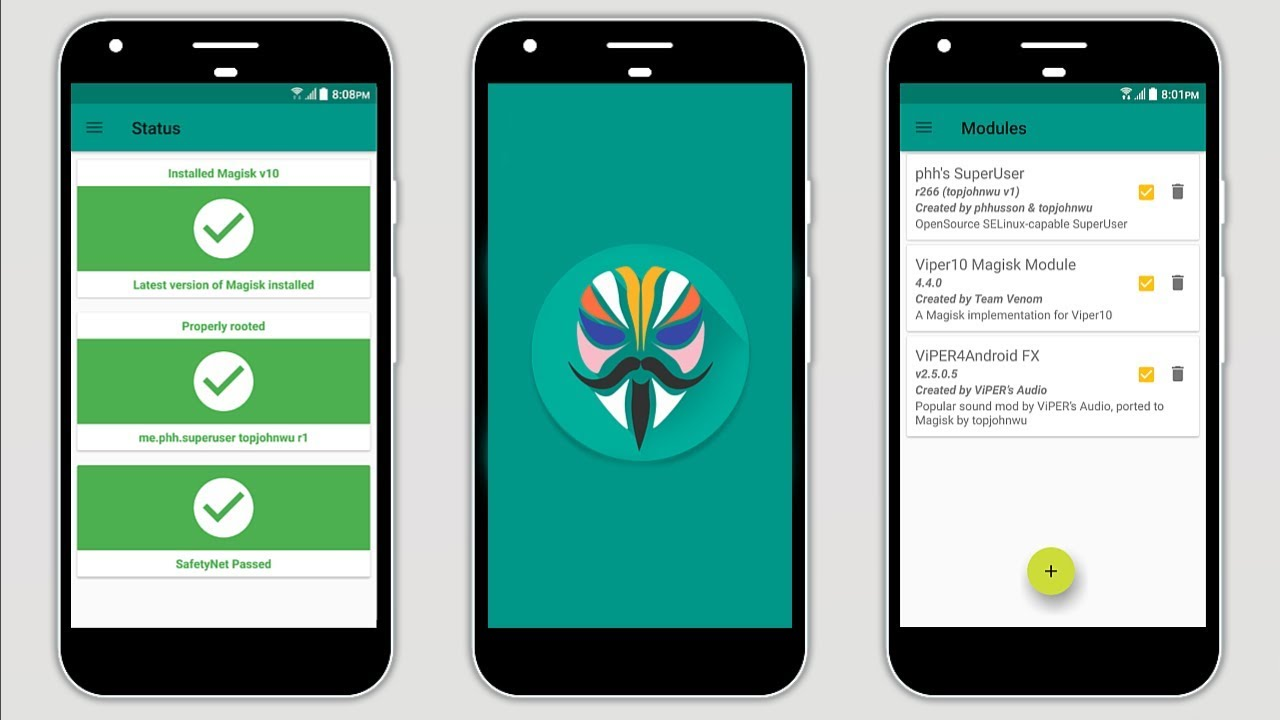 Magisk Manager For Android - Now Allow or Deny Root ...